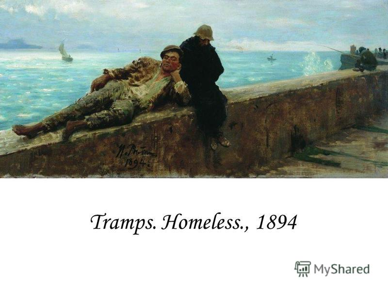 Tramps. Homeless., 1894