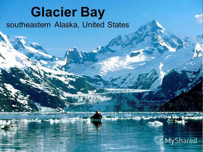 Glacier Bay southeastern Alaska, United States