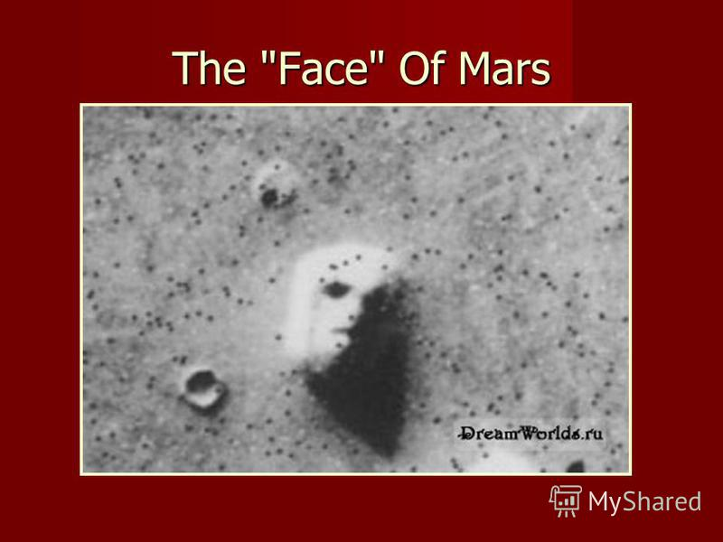 The Face Of Mars
