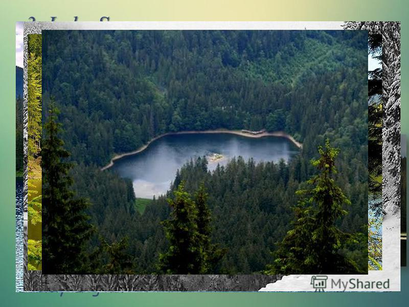 3. Lake Synevyr The picturesque corner of Ukrainian Carpathians lake located at an altitude of nearly a thousand meters, has an interesting legend about the origin of its name. According to legend, the lake formed by the flow of tears count's daughte