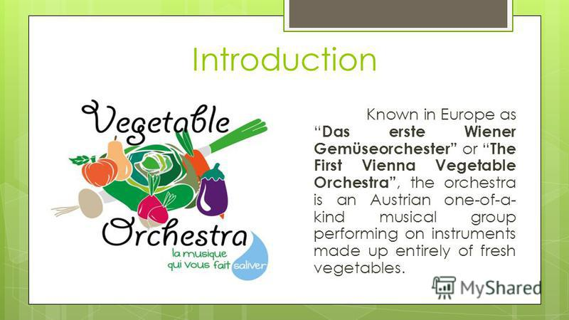 The Vegetable Orchestra Roman Kotenko, 10 C