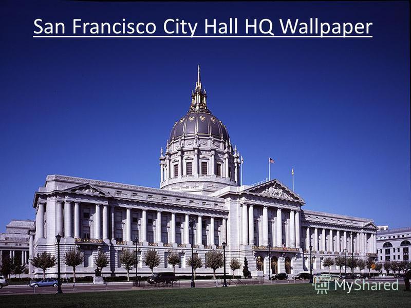 San Francisco City Hall HQ Wallpaper