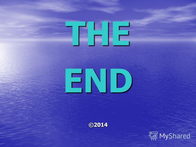 THEEND©2014