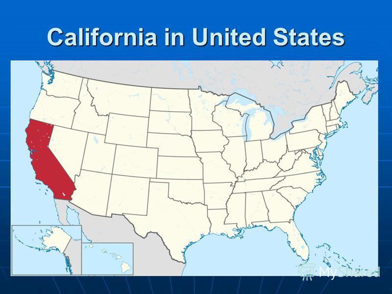 California in United States