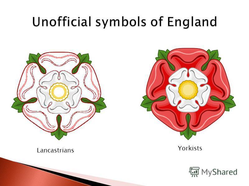 Lancastrians Yorkists