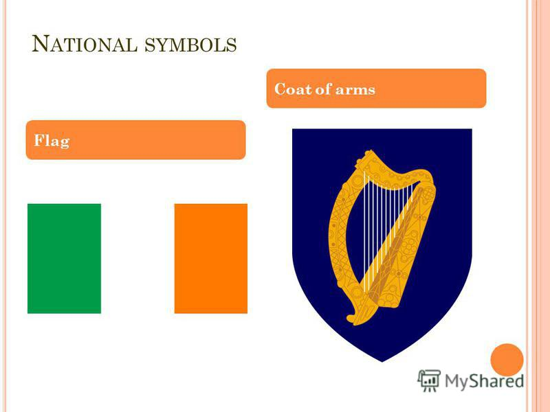 N ATIONAL SYMBOLS Flag Coat of arms