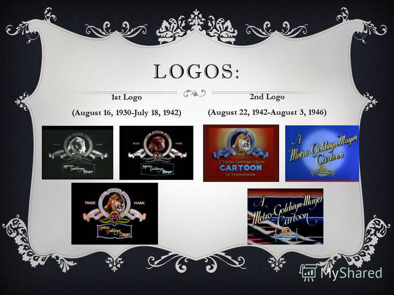 LOGOS: 1st Logo (August 16, 1930-July 18, 1942) 2nd Logo (August 22, 1942-August 3, 1946)