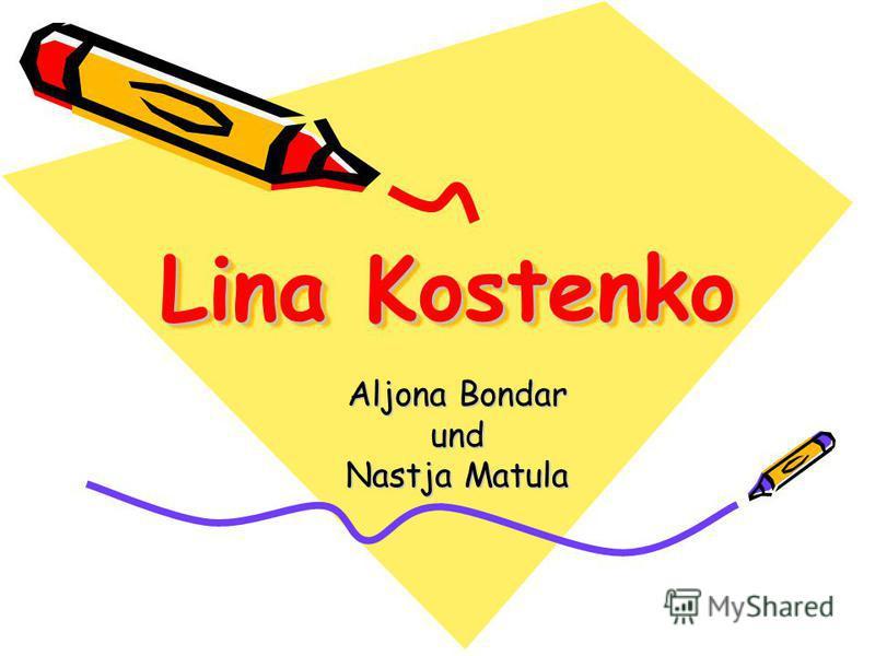 Lina Kostenko Aljona Bondar und Nastja Matula
