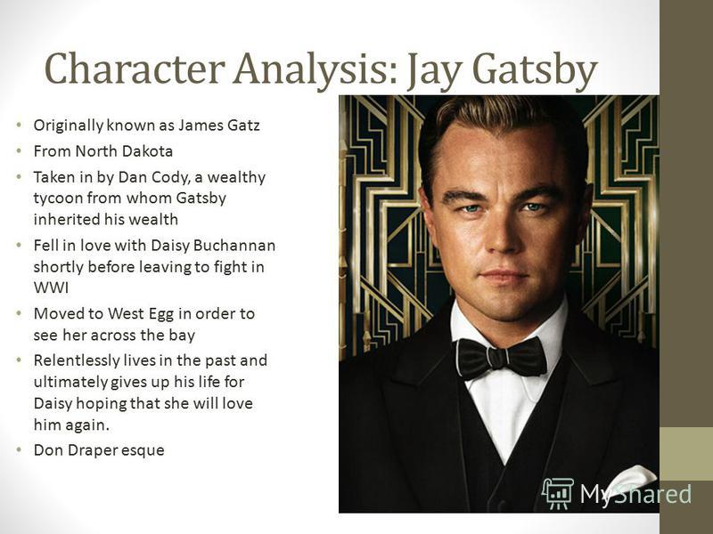 great gatsby character essay Delayed revelations- 'emphasis the theatrical quality of gatsby approach to life' transformed self into a persona 'ability to transform hope and dreams into.