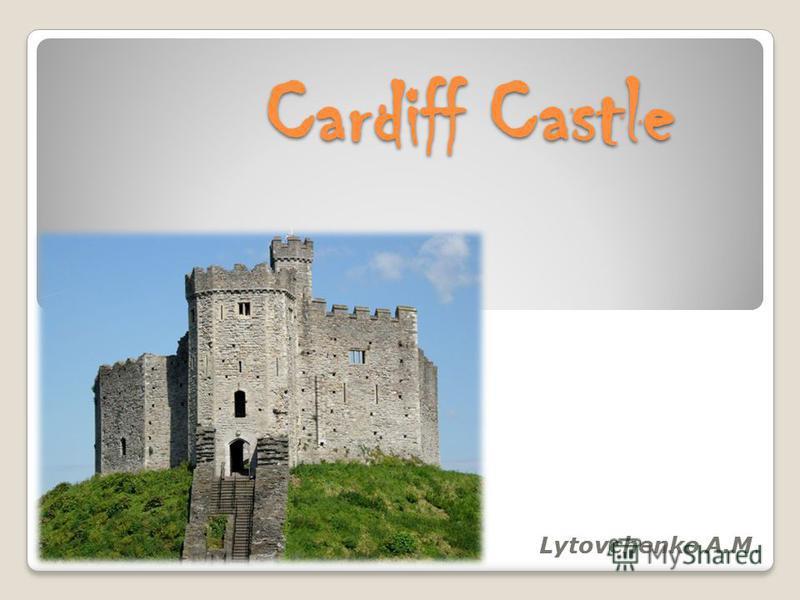 Cardiff Castle Lytovchenko A.M.