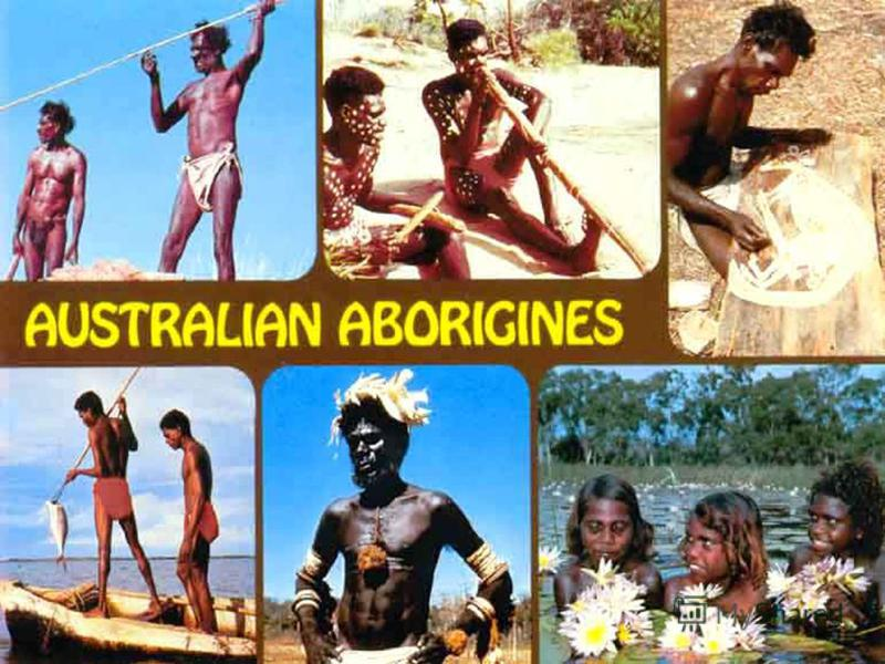 The population of Australia The official language of Australia is English. The official language of Australia is English. Most Australians are of British and Irish ancestry, the aborigines, and emigrants from different countries. Most Australians are
