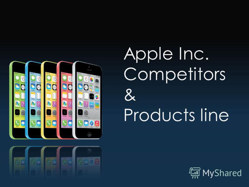 Apple Inc. Competitors & Products line