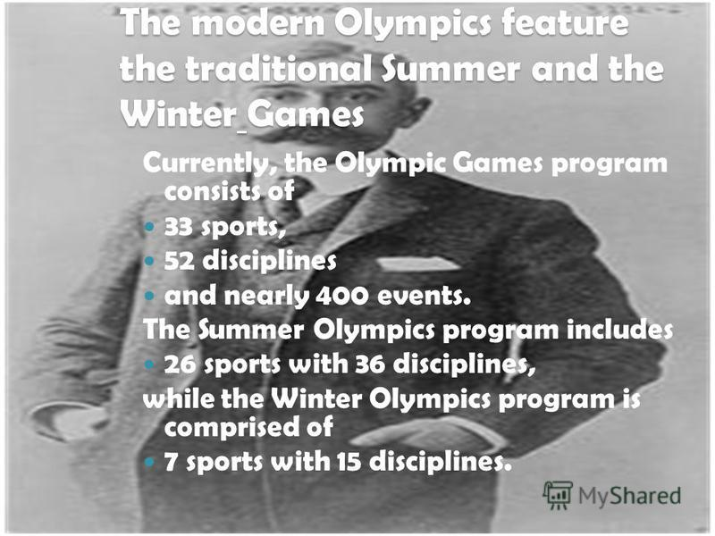 The International Olympic Committee was founded in 1894 on the initiative of a French nobleman, Baron Pierre de Coubertin.