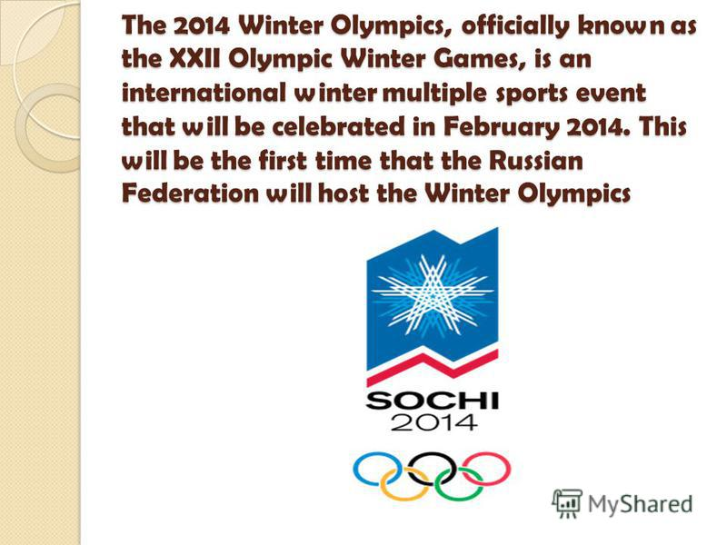 The 2010 Winter Olympics, officially known as the 21st Winter Olympics, were held in February 12-28, 2010, in Vancouver, British Columbia, Canada.