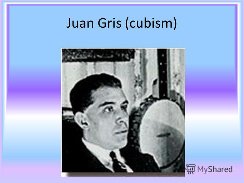 Juan Gris (cubism)