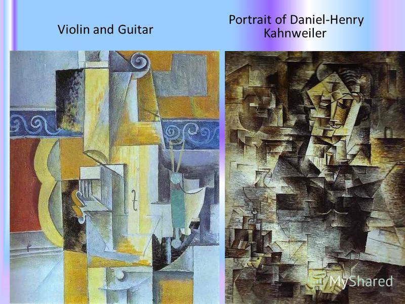 Violin and Guitar Portrait of Daniel-Henry Kahnweiler