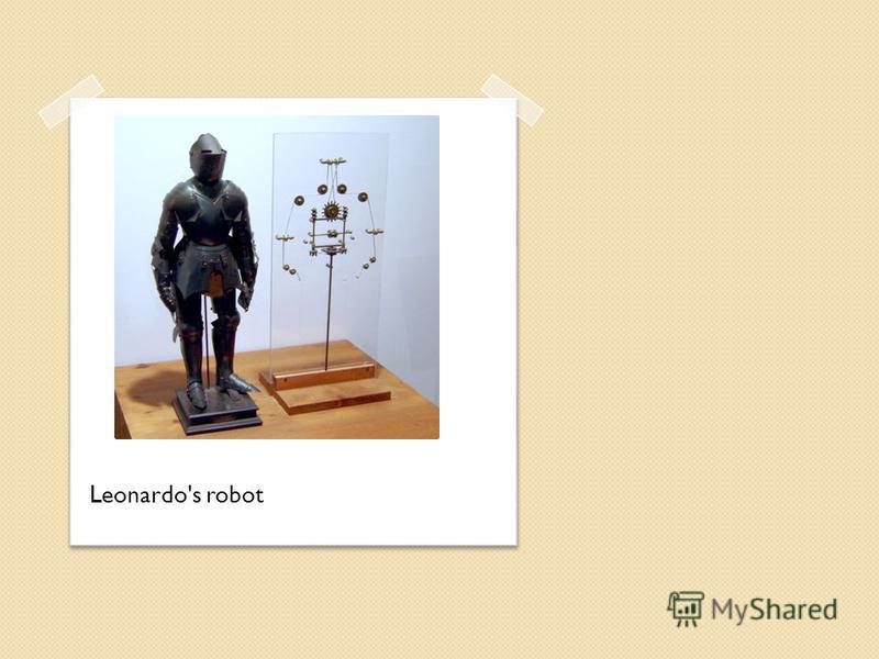 Leonardo's robot