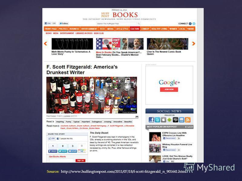Source: http://www.huffingtonpost.com/2011/07/18/f-scott-fitzgerald_n_901641.html