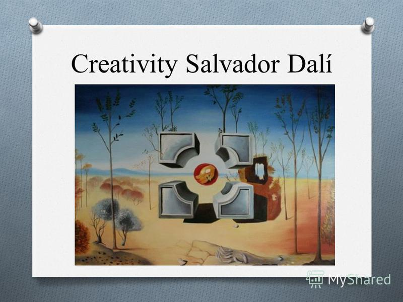 Creativity Salvador Dalí