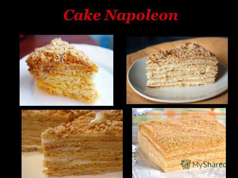 Cake Napoleon