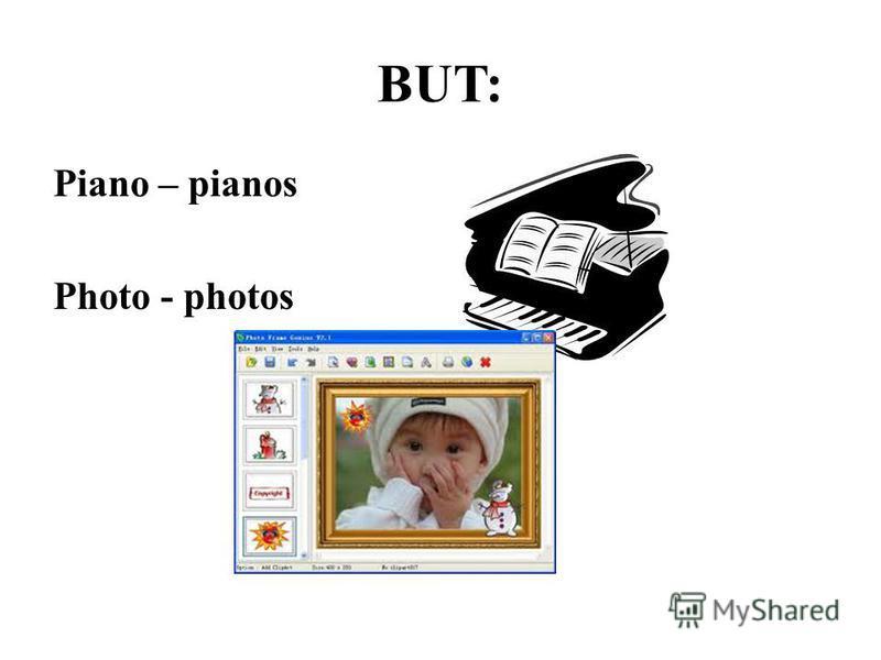 BUT: Piano – pianos Photo - photos