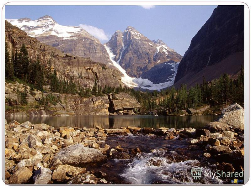 Canada has a very small population, 28 million people, for its geographic size. Much of Canada is still wilderness, cover by forests. The Rocky Mountains cover a major part of western Canada -- British Columbia, the Yukon Territory, and the western p