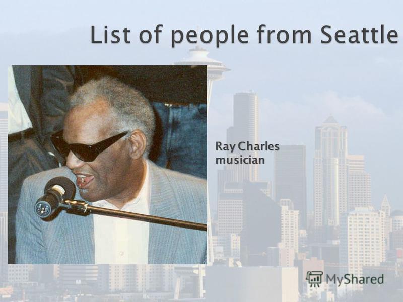 Ray Charles musician
