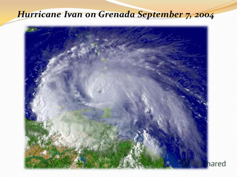 Hurricane Ivan on Grenada September 7, 2004