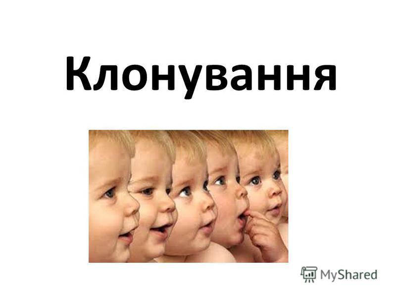 Клонування