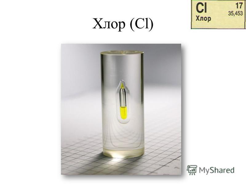 Хлор (Cl)