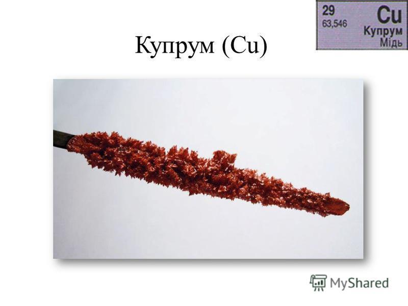 Купрум (Cu)