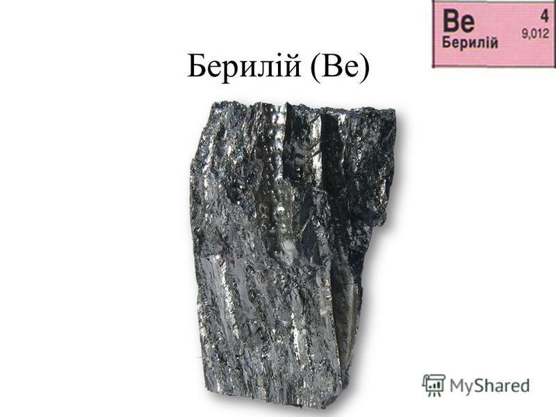 Берилій (Be)