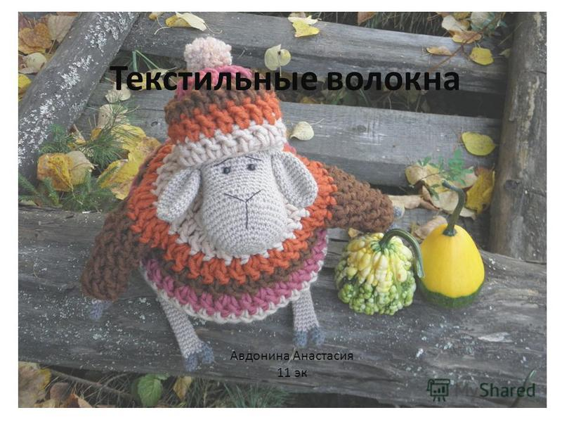 Текстильные волокна Авдонина Анастасия 11 эк
