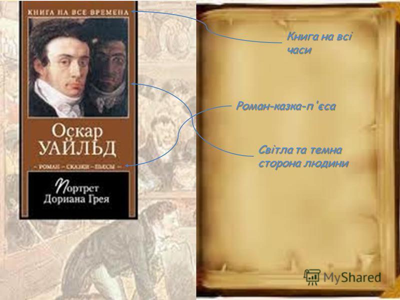 Книга на всі часи Роман-казка-п'єса Світла та темна сторона людини