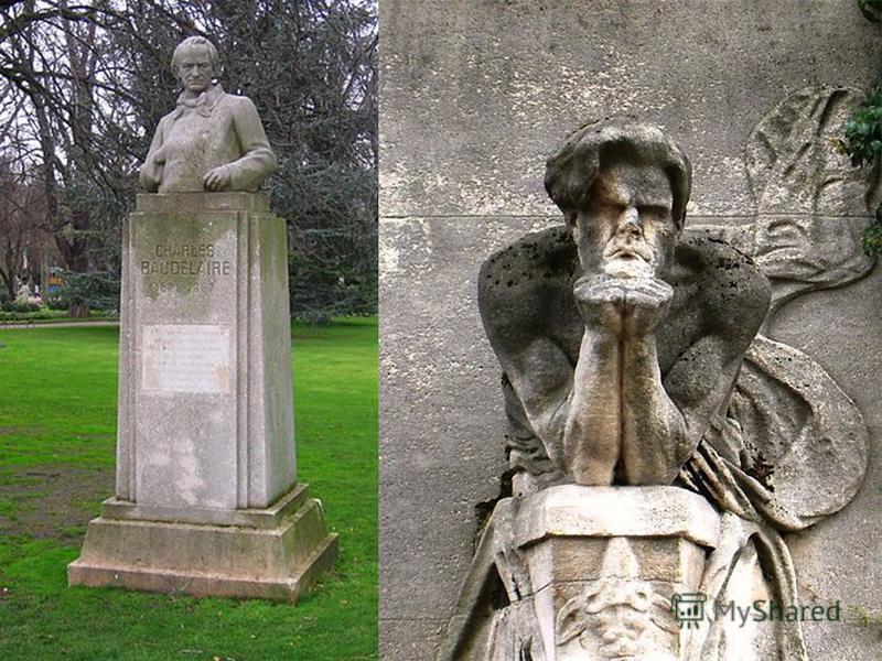 Біографія У 1865 у Бодлера з'явилися симптоми паралічу мови, як наслідок важкої стадії сифілісу. В 1866 після серцевого нападу мати відвозить Бодлера в Париж в лікарню лікаря Дюваля. 31 серпня 1867 після довгої агонії Бодлер помер на руках матері. По