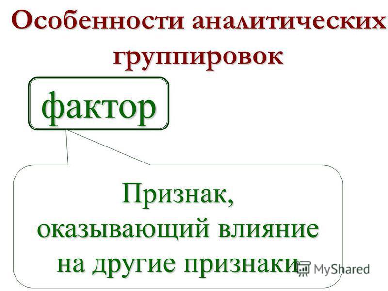 Разделение качественно однородной совокупности на группы с целью изучения взаимосвязей признаков