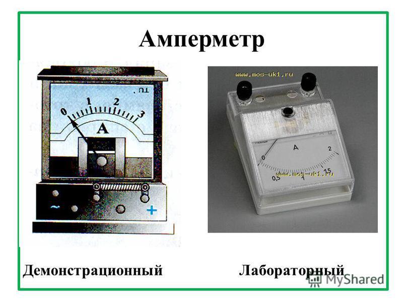 Амперметр Демонстрационный Лабораторный