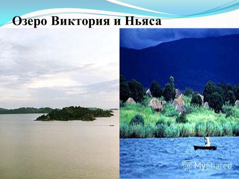 Озеро Виктория и Ньяса