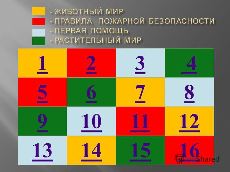 123 4 5678 9101112 13141516