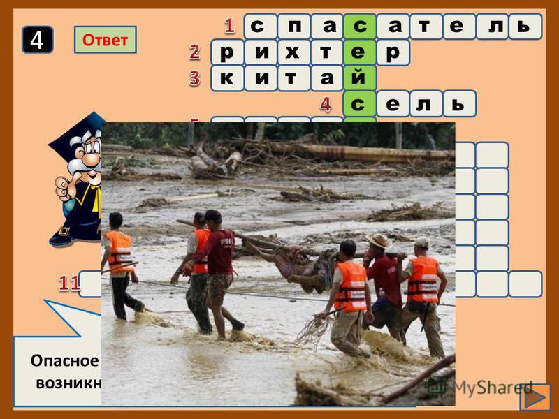 Страна, в которой был изобретен первый прибор, предупреждающий о землетрясении 3 Ответ спасатель рихтер китай