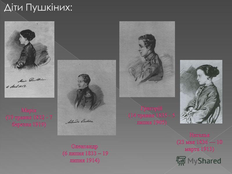 Діти Пушкіних: