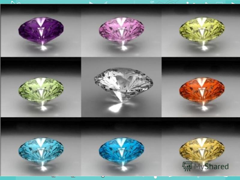 Алмаз найтвердіша речовина серед усіх відомих, навіть міцніша за обсидіан. Завдяки своїй надзвичайній твердості він широко застосовується при бурінні твердих гірських порід, обробці твердих металів, виробництві абразивів тощо. Відшліфовані безбарвні