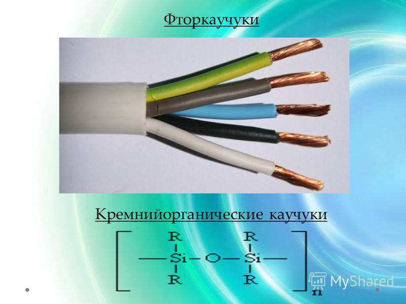 Фторкаучуки Кремнийорганические каучуки