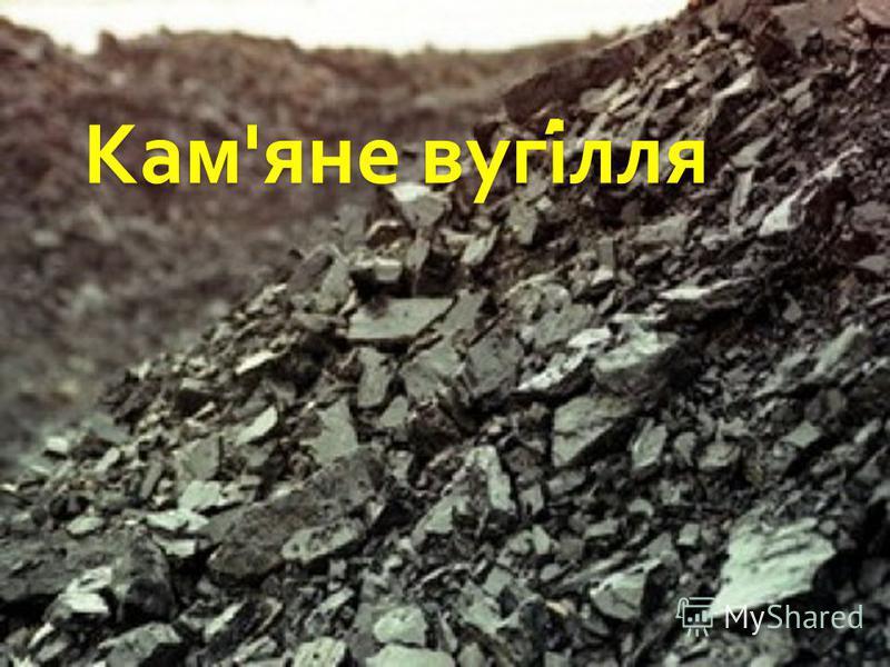 Кам ' яне вугілля