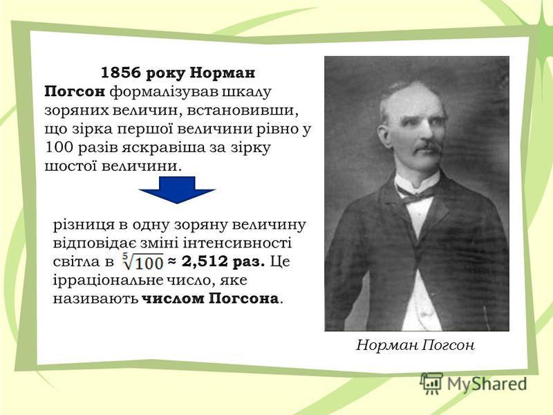 Норман Погсон