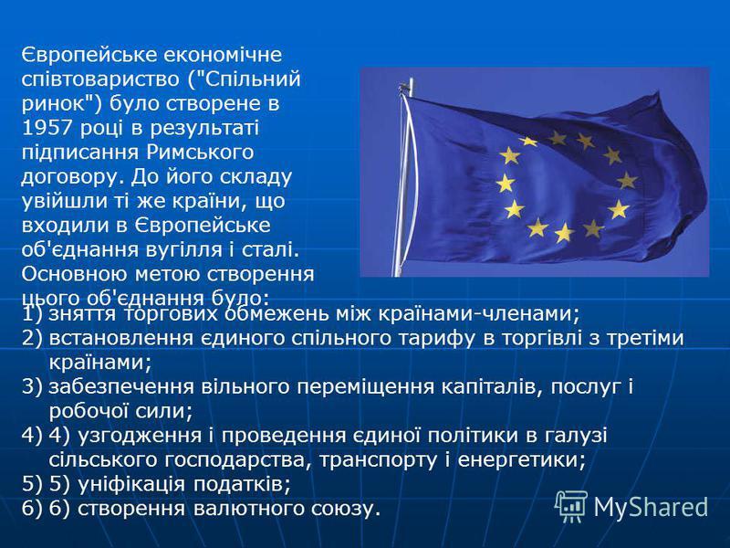 Європейське економічне співтовариство (