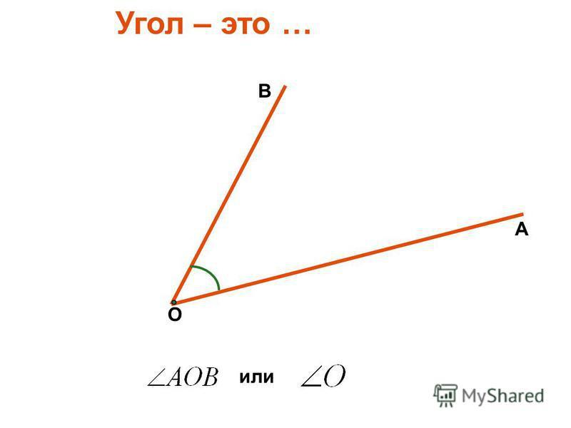 Построение и измерение углов Математика, 5 класс