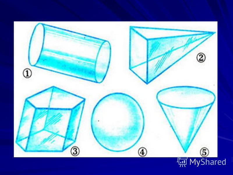 Задание 20 На рисунке изображены различные геометрические тела. Какие из них являются многогранниками?