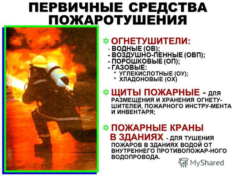 ОТВЕТСТВЕННОСТЬ по ПОЖАРНОЙ БЕЗОПАСНОСТИ - нарушение требований пожарной безопасности, установленных стандартами, нормами и правилами; - нарушение требований стандартов, норм и правил пожарной безопасности, повлекшее возникновение пожара без причинен