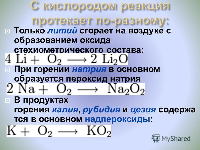 С водородом образуют гидриды. Бурно реагируют с х лором и с ерой.